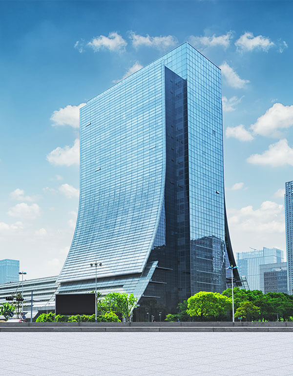modern-business-building-with-glass-wall-from-empty-floor